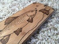 Trout chopping/serving board