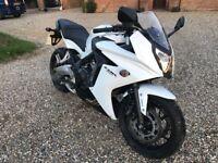 Honda CBR650F (2014) Supersport, White/Black, Low Millage (8k)