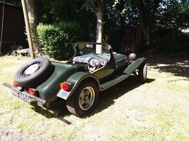 Marlin Roadster, Kit car, on a Triumph vitesse chassis