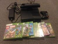 Great condition Xbox 360 slim with kinect sensor