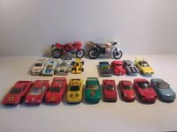 Matchbox and Hot Wheels toy cars