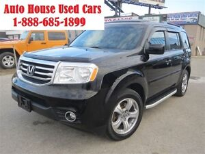 2012 Honda Pilot EX-L , Leather,Sunroof,Backup camera,8 passenge