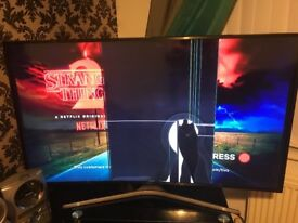 55inch curve 4K smart tv (spare or repair)