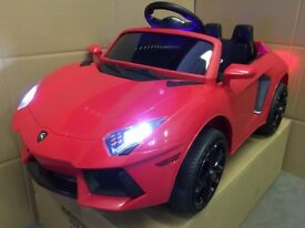 LAMBORGHINI HURACAN ROADSTER 12v KIDS RIDE IN CAR with REMOTE CONTROL