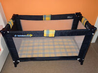 Maxi-sleep Travel Cot, including travel bag