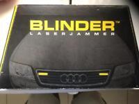 Blinder lazer jammer