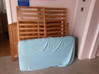 ..child cot bed and mattress, in mint condition, comes from smoke free house.....
