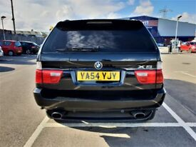 BMW X5 2004+AUTO+SAT-NAV+LEATHER+ELEC-MEM-SEATS+SENSORS (F+R)+6 CD CHNGR+XENON+CRUISE+FUL BMW S-HIST