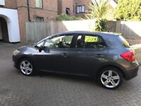 Toyota Auris fitted with LPG Gas Fuel