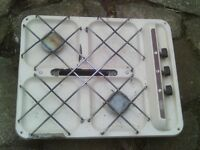 caravan 2 burner hob with grill and a matching sink / drainer