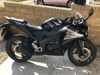 Honda CBR125R Brilliant first bike, very powerful and in excellent condition.