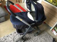 Graco pushchair carrycot car seat