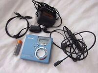 Sony MZ-N520 MD Walkman Personal MiniDisc Recorder Player