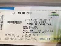 Chris rock tkt the hydro Glasgow 24/01/2018
