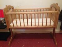 Baby Cot including mattress