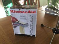 Kitchen Aid attachment pasta machine
