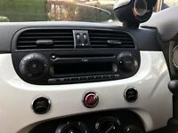 FIAT 500 ORIGINAL MP3 CD PLAYER RADIO STEREO - REQUIRES A SECURITY CODE