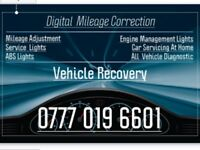 Mileage correction and recovery Service