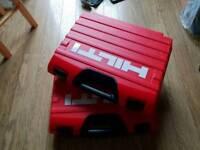 2 new HILTI tools/drill cases, empty