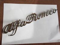 Alfa romeo badge 1960,s