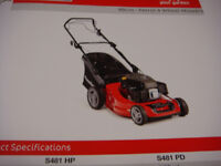 MOUNTFIELD PETROL LAWNMOWER MODELS421HP BOXED OR ASSEMBLED READY FOR USE