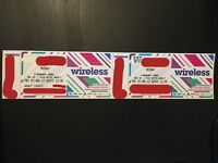 Wireless Festival Tickets 2x – Friday 7th