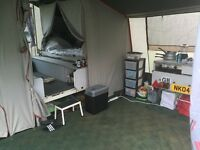 4 berth conway miami trailer tent with under pod