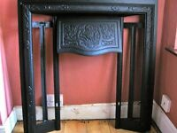 Renovated Edwardian / Victorian Cast Iron Fireplace