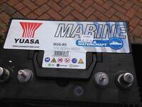 YUASA Europe Marine Leisure Battery 80ah 12 volt