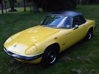Lotus Elan S4 - Drop Head Coupe - Twin Weber Carburettors - Original Registration Number SYS 11G