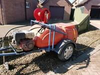 Honda 3000psi power washing trailer