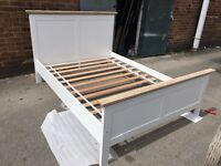 Canterbury Double Bed Frame - Two Tone