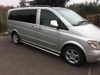 Mercedes-Benz Vito Silver 2006 8 Seater People carrier Immaculate condition Mercedes Vito Minibus