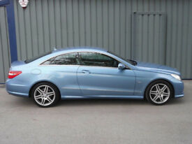 2009 MERCEDES-BENZ E350 CDI SPORT AUTO 69000 MILES BLUE