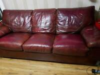 Seater Leather Sofa Bed