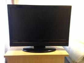 """Hitachi 19"""" flat screen led tv spares or repairs"""