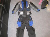 Motorcycle textile Suit - Size XXS, full armour