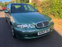 2004 ROVER 45 1.4 IMPRESSION LOW MILES CLEAN CAR WITH LEATHER