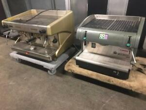 Single and two group espresso machines both for only $1000! Dealers welcome ( wont last !) faema