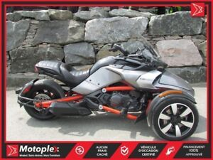 2015 Can-Am Spyder F3S SM5 Comme Neuf  76$/SEMAINE