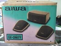 3 piece speakers new in box £10