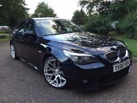 BMW 5 SERIES 3.0 525d M Sport 4dr 58 reg** FULL SERVICE HISTORY*Soft close automatic system for door