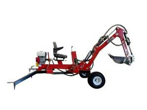 HOC TE301H - HONDA TOWABLE EXCAVATOR TOWABLE TRENCHER TOWABLE BACKHOE + 1 YEAR WARRANTY + FREE SHIPPING