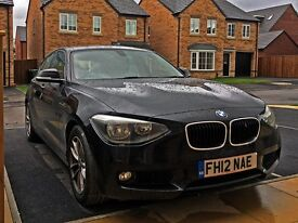 2012 BMW 116d ED Efficient Dynamics Black 5 door - Full Leather - LOW MILEAGE