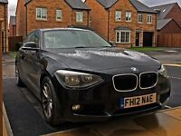 2012 BMW 116d ED Efficient Dynamics Black 5 door - Full Leather - LOW MILEAGE