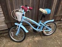 CherryLane apollo girls bike 5-7 years.