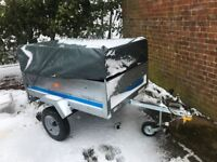 ERDE SY 150 Trailer less than a year old with cover