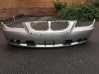 Bmw 5 series front bumper/grilles/fog lights
