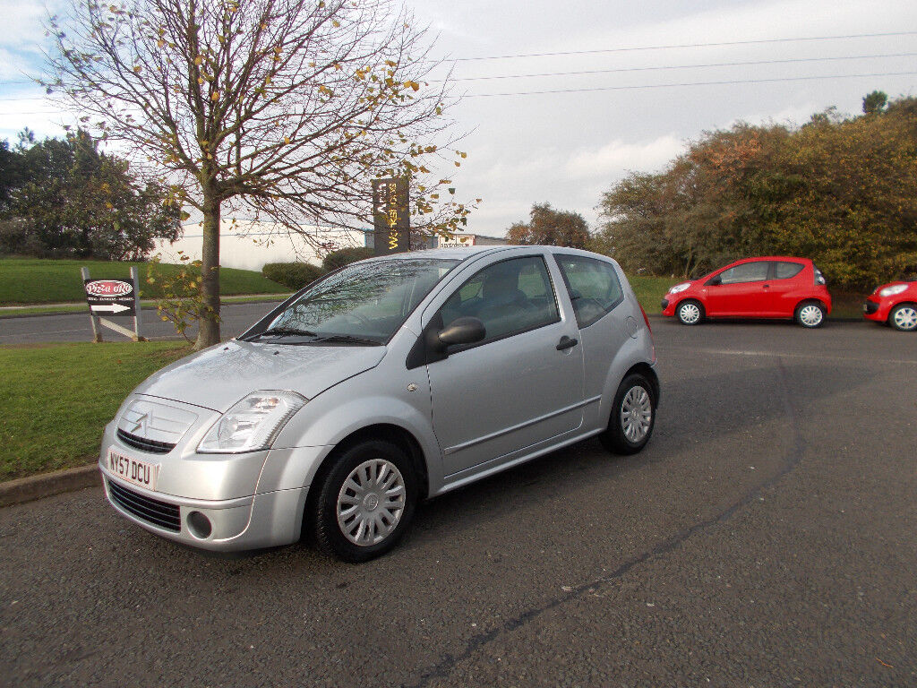 CITROEN C2 COOL 1.4 HATCHBACK STUNNING SILVER NEW SHAPE 2008 BARGAIN ONLY £850 *LOOK* PX/DELIVERY