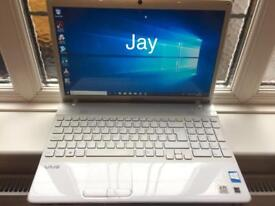 Sony Vaio HD 4GB Ram Fast Laptop 320GB,Window10,Microsoft office,Ready to use